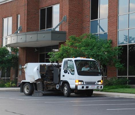Columbus Power Cleaning Parking Lot Sweeping Columbus, Ohio